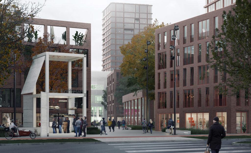 Impressie EKP-terrein Den Bosch - DELVA en Studioninedots